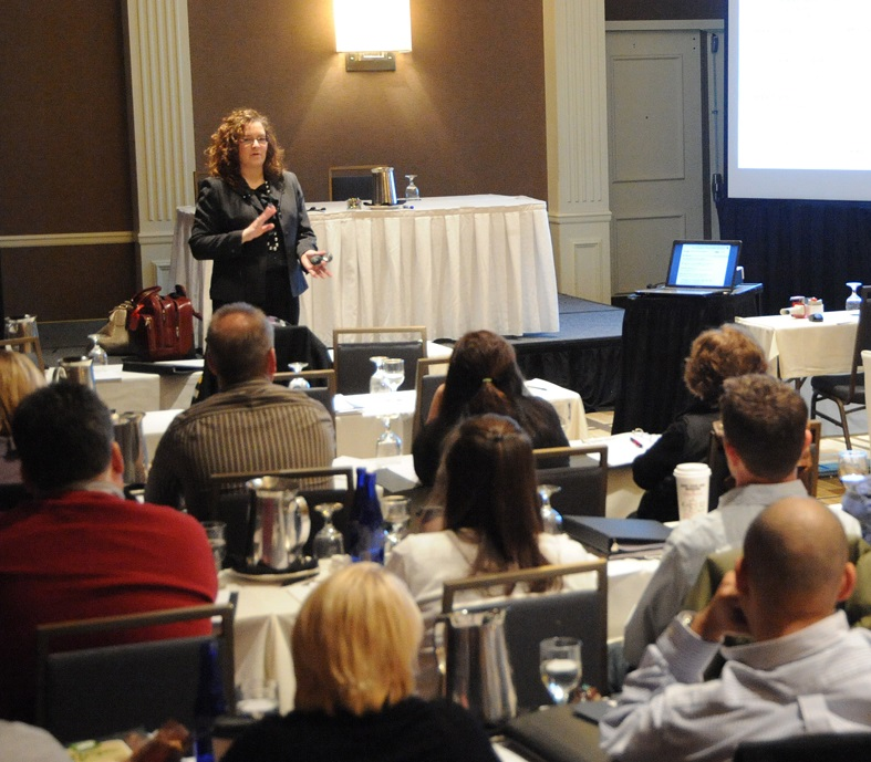 Keynote session and training at corporate annual conference groups