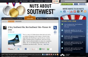 Southwest Airlines company blog