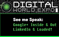 Join me at Digital World Expo Las Vegas!