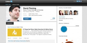 meet the neew LinkedIn user profile