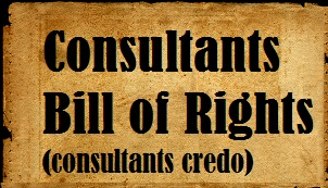 consultants bill of rights