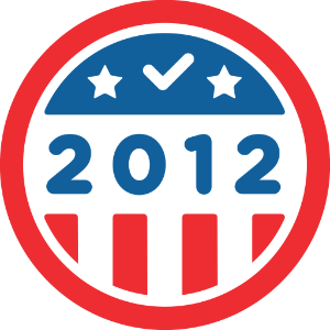 Foursquare I Voted Badge for Election 2012