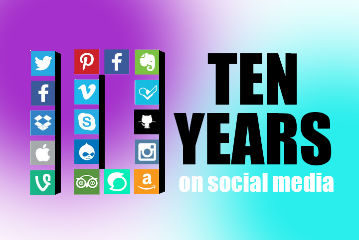 Lessons learned from the 1st 10 years of social media